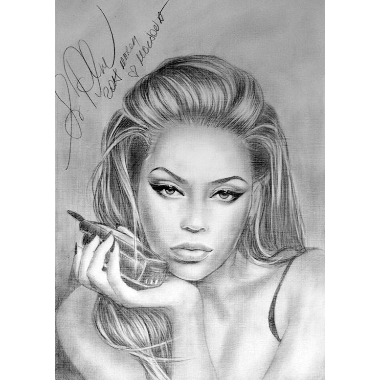 Beyonce by svetliaciok
